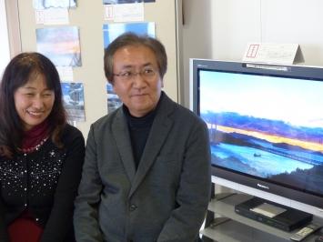 槙野浩二さんご夫婦は三年間鷲羽山の映像を撮られみごと最優秀賞を輝きました